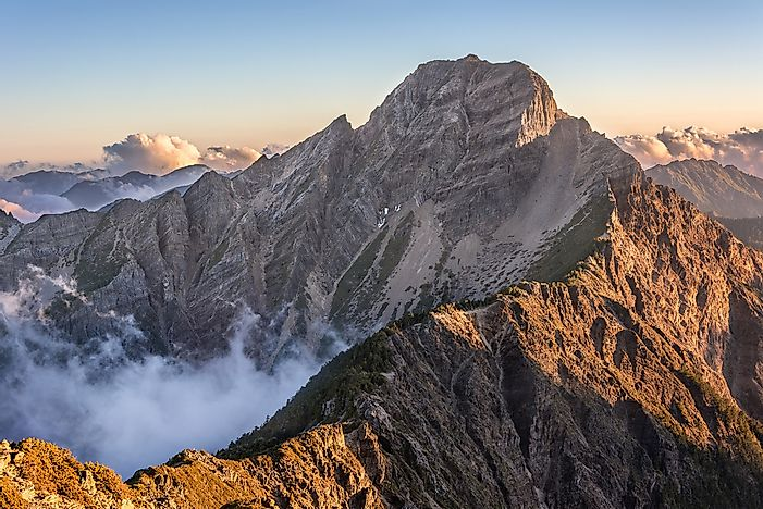What is the Highest Mountain In Taiwan?