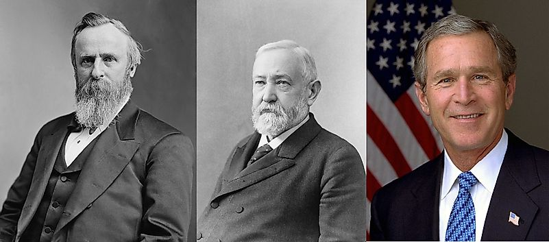 U.S. Presidents Who Lost The Popular Vote Yet Won The Electoral College To Take Office