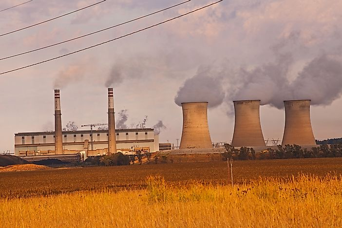 #8 South Africa - The Top 10 Coal Producers Worldwide