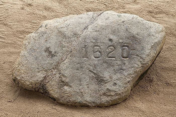 Plymouth rock - just a rock?