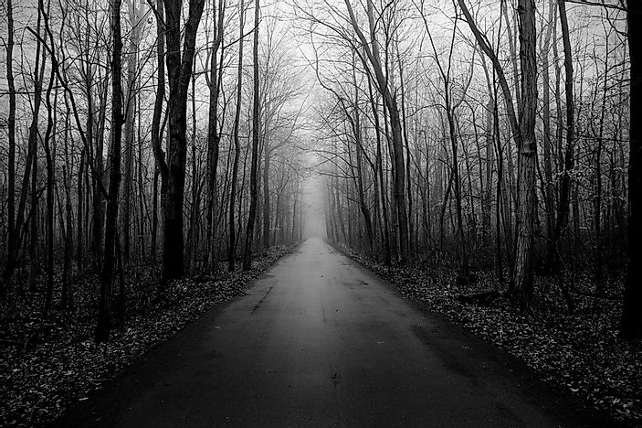 10 of the Spookiest Roads in America