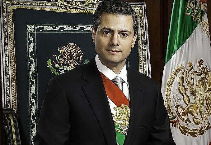 Presidents Of Mexico In The Modern Era