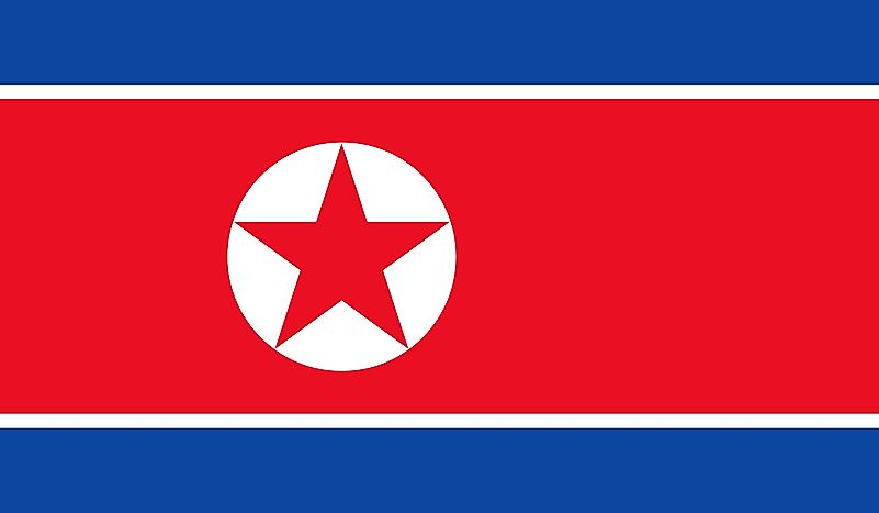 What Do The Colors And Symbols Of The Flag Of North Korea Mean?