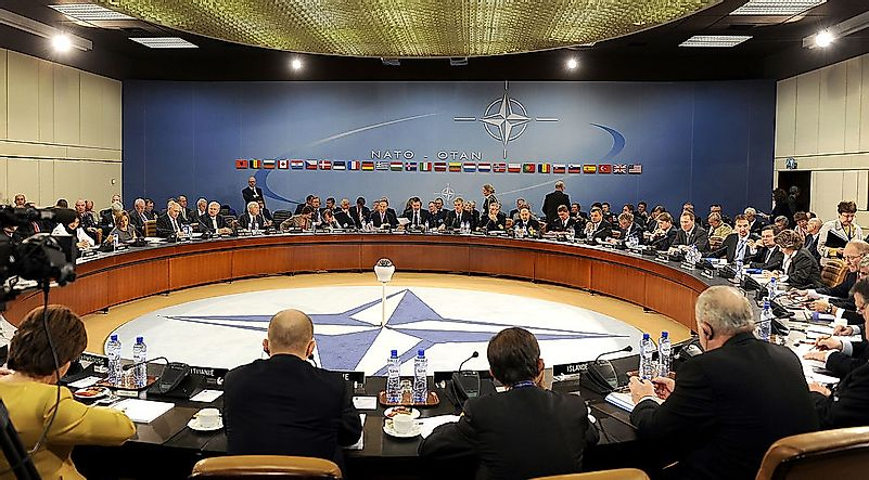 Major NATO Military Interventions