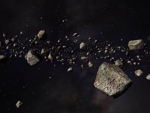 Important facts about the asteroid belt for What is space