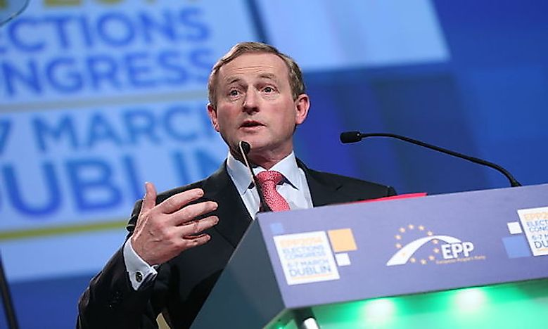 Taoiseach - Prime Minister Of Ireland