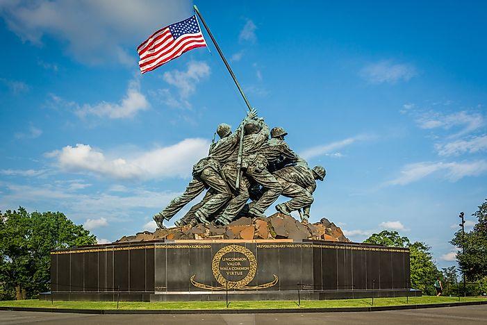 Đài tưởng niệm chiến tranh thủy quân lục chiến số 2