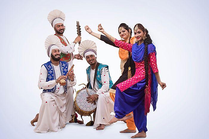 What Is the Bhangra Dance Of Punjab? - WorldAtlas com