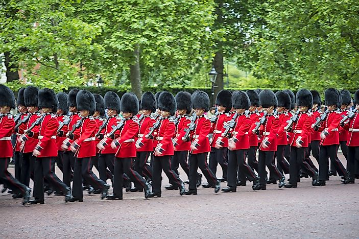 What is Trooping the Colour?