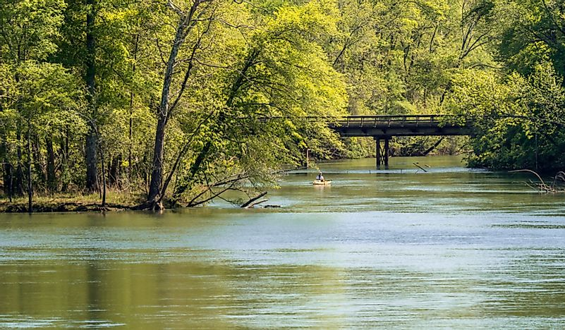 The 10 Longest Rivers in South Carolina