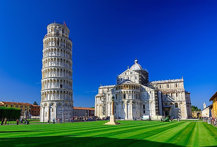 #1 Leaning Tower of Pisa