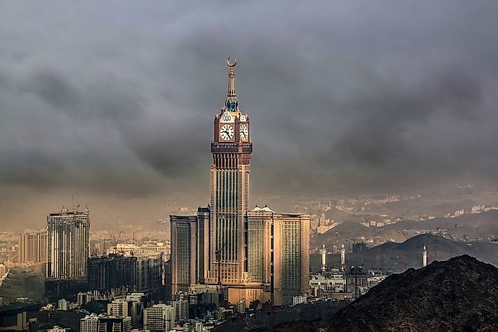 The Tallest Buildings in Saudi Arabia