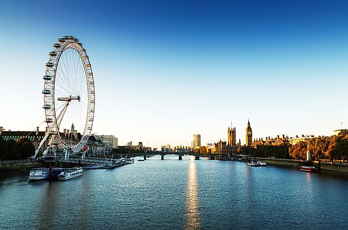 The London Eye - a cool experience, but not worth the high admission and long wait times.