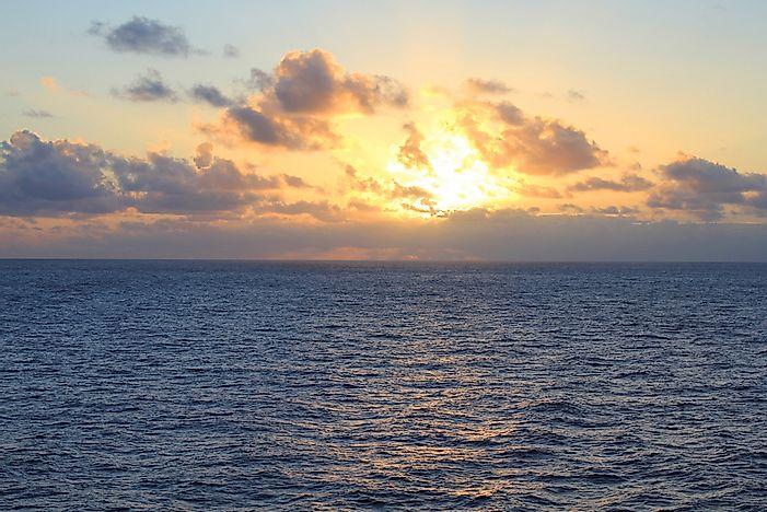 Oceans of the World by Size - WorldAtlas com