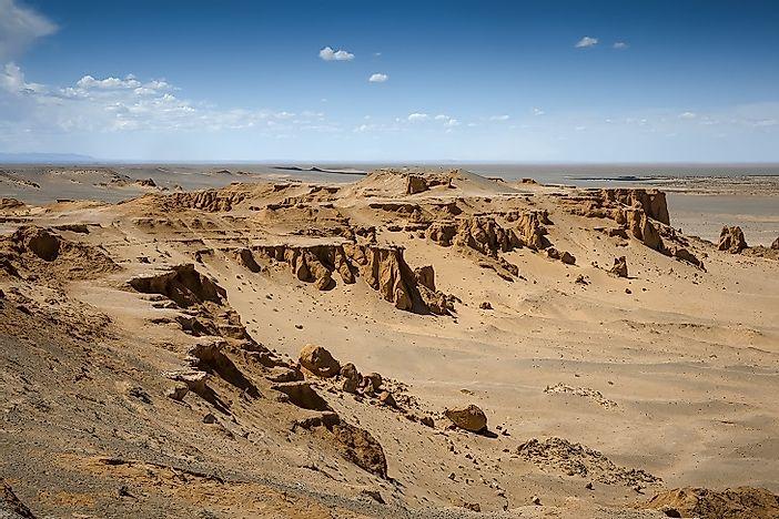 Map Of Asia Gobi Desert.The Gobi Desert A Natural Wonder Of Asia Worldatlas Com