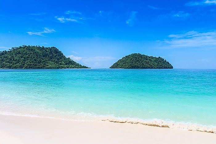 world atlas, ko adang, thailand, beach, island, ko lipe