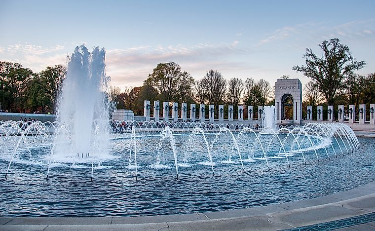 #6 National World War II Memorial - 2004