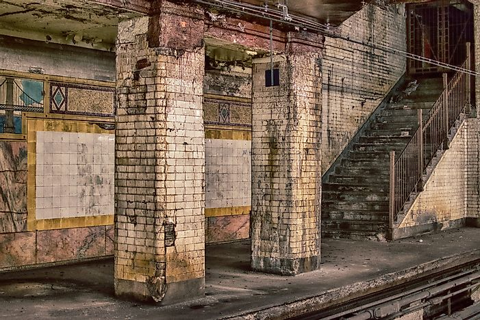 The Lost Subway Stations of New York City