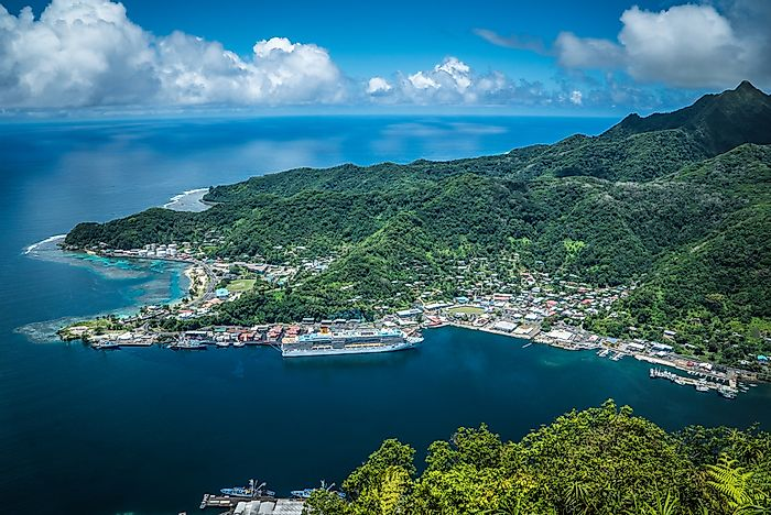 What Is The Capital Of American Samoa?