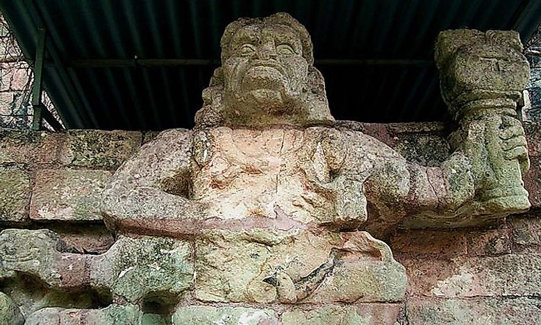 Copan Maya Archaeological Site, Honduras