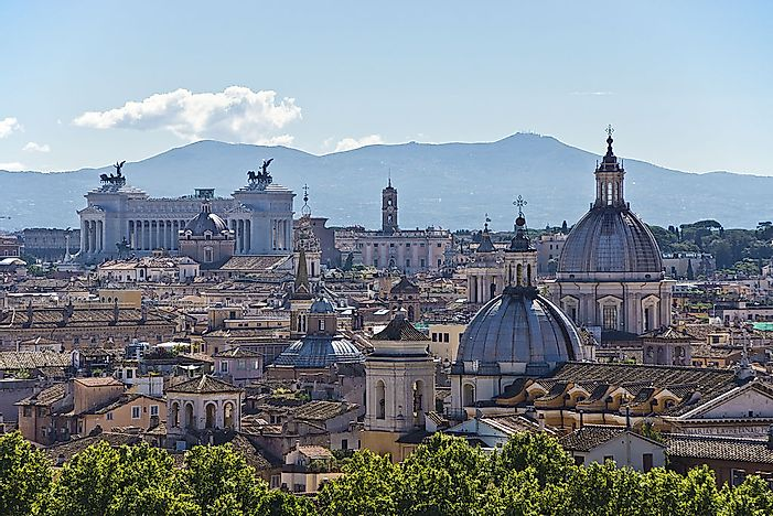 Ten Biggest Metropolitan Areas In Italy