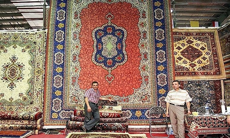#3 Carpet weaving in Kashan And Fars -