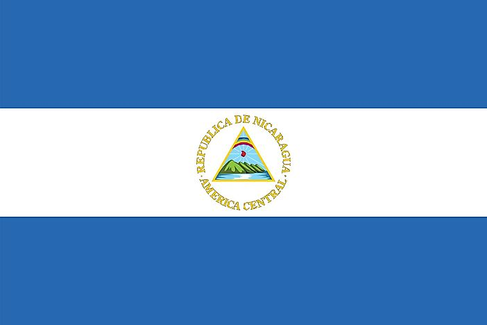 What Do The Colors And Symbols Of The Flag Of Nicaragua Mean?