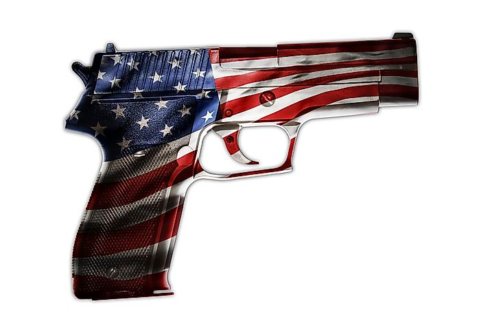 United States Firearm Death Rates Ranked by State