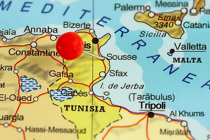 Where is Tunisia?