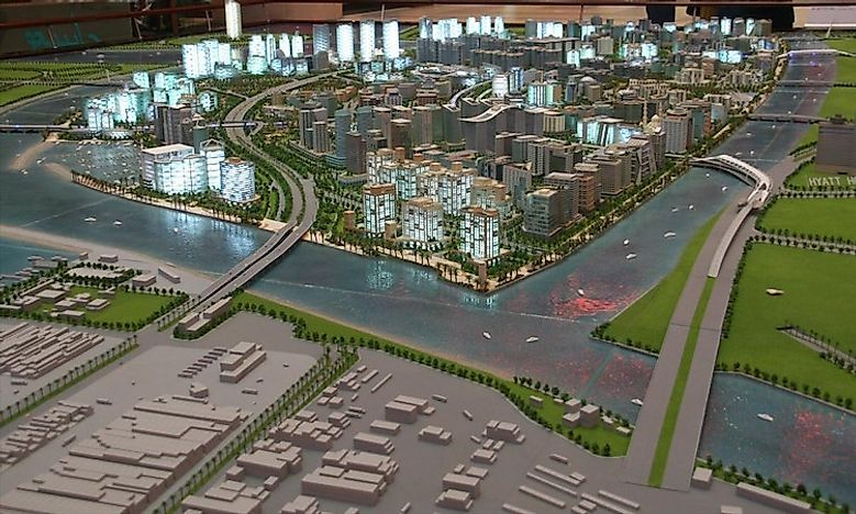 Another Project Of The Nakheel Group, The Deira Island Was Initially  Planned To Be Part Of The Palm Islands Dubai. Also Known As The Deira Palm,  ...