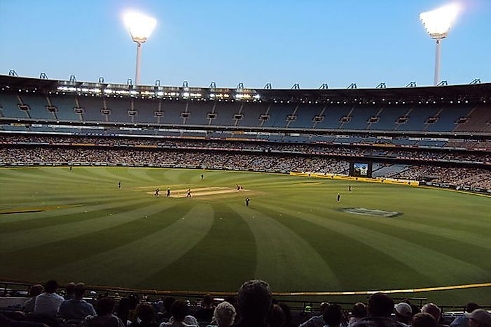 Top Cricket Stadiums In Australia By The Number Of Games Hosted