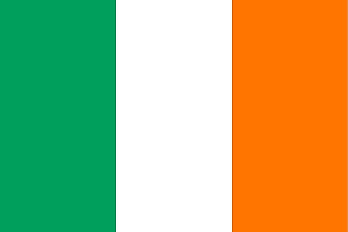 The National Flag of Ireland