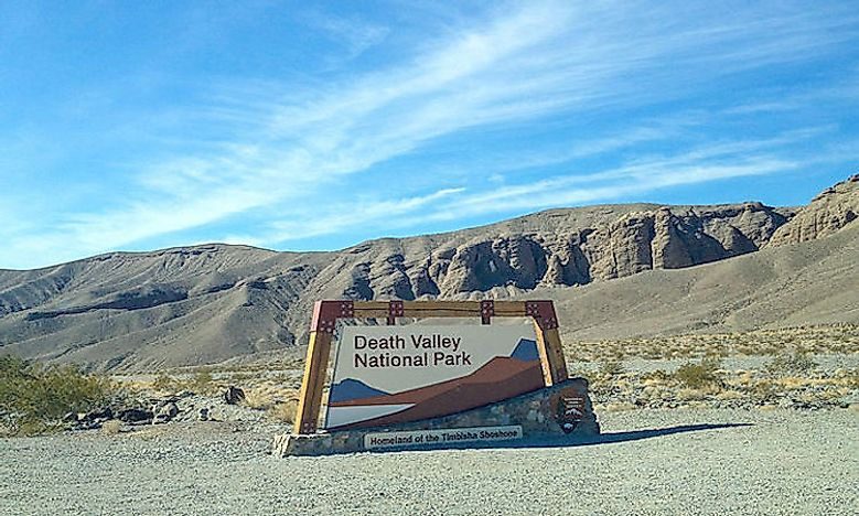 #1 Death Valley National Park -