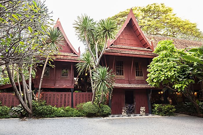 Jim Thompson houses in Thailand.