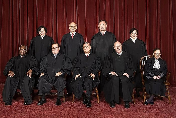 What Justices Are Currently On The U.S. Supreme Court?