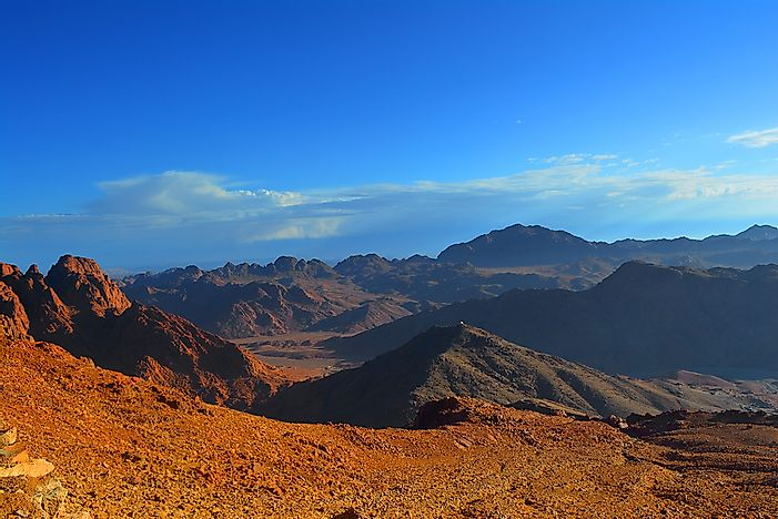 #1 The Sinai Peninsula