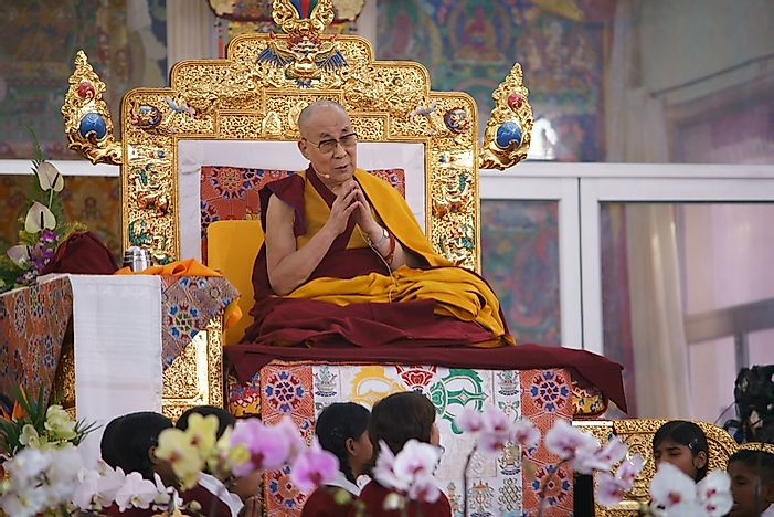 where does indeed the actual dalai lama live