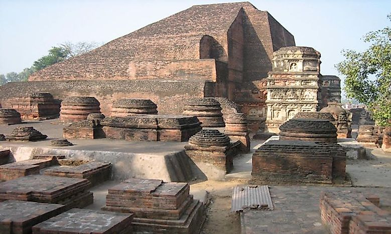 #5 The Nalanda University In Bihar -