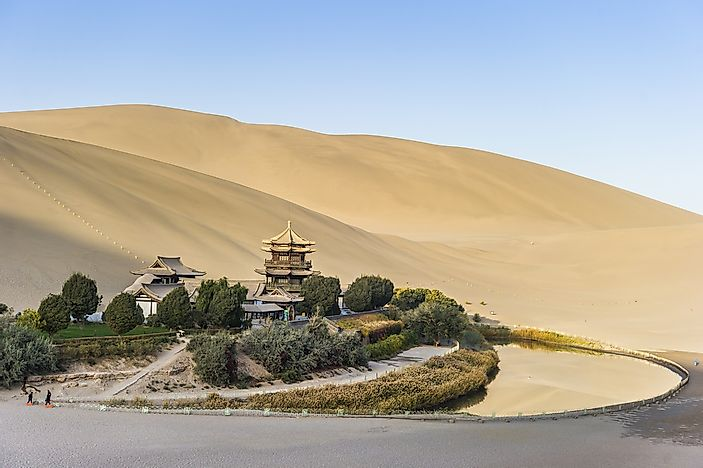#7 Singing Dunes And Crescent Lake of Dunhuang