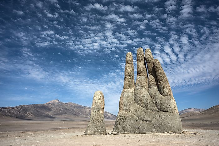 Mano Del Desierto Unique Places Around The World