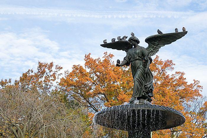 #8 Bethesda Fountain - 1873