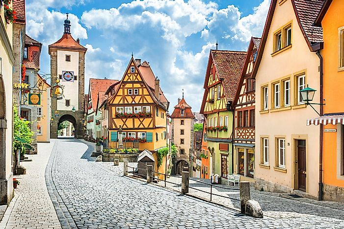 Rothenburg, Bavaria.