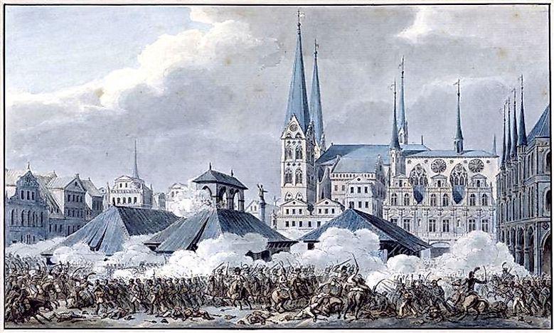 #4 Battle of Lübeck (November of 1806) -