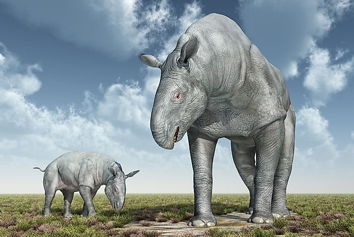 Extinct Megafauna of the World