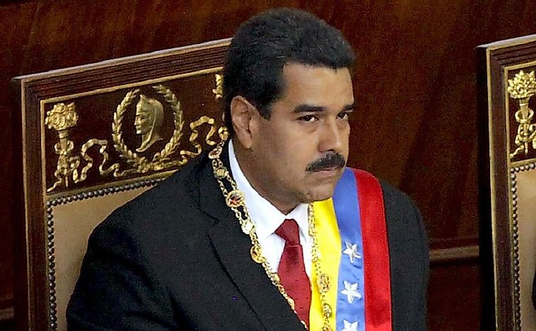 Presidents Of Venezuela Since 1953