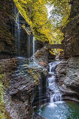 Watkins Glen State Park New York Unique Places Around