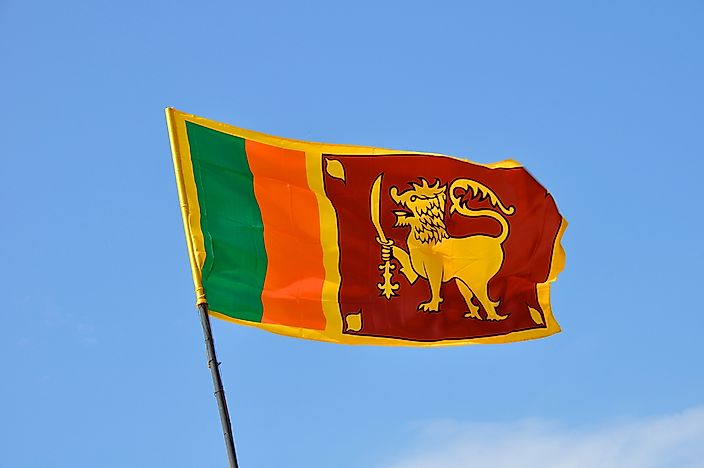 What Do The Colors And Symbols Of The Flag Of Sri Lanka Mean?