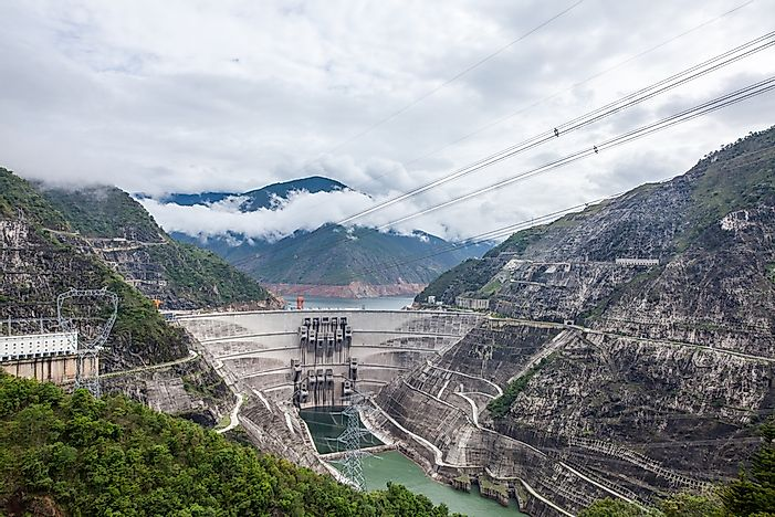 The Tallest Dams In China