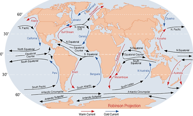 How do ocean currents affect climate worldatlas how do ocean currents affect climate gumiabroncs Images