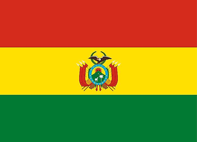 What Do the Colors and Symbols of the Flag of Bolivia Mean ...Bolivia